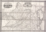 Map of the state of Virginia : containing the counties, principal towns, railroads, rivers, canals...
