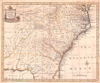 A new & accurate map of the provinces of North & South Carolina, Georgia & c