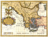A new map of antient Greece, Thrace, Mœsia, Illyricum, and the Isles adjoyning