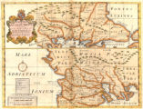 A new map of antient Thrace : as also of the northern parts of old Greece, viz. Macedonia, and...