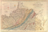 Hotchkiss' geological map of Virginia and West Virginia
