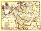 A new map of antient Germany, Rhætia, Vindelicia, and Noricum. : Shewing their principal people,...