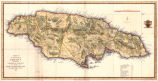 A map of the Island of Jamaica, divided into counties and parishes, for the History of the British...