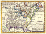 A map of New France containing Canada, Louisiana &c. in Nth. America