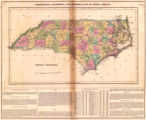 Geographical, statistical and historical map of North Carolina