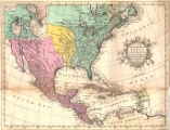 A new and accurate map of North America laid down according to the latest and most approved...