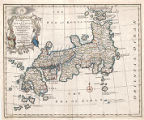 A new and accurate map of the Empire of Japan : laid down from the memoirs of the Portuguese and...
