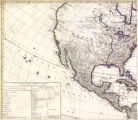 A map of the whole continent of America : divided into North and South and West Indies with a...