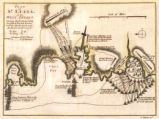 Plan of St. Lucia, in the West Indies : shewing the positions of the English and French forces...