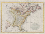 A correct map of the United States of North America : including the British and Spanish...