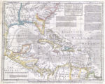 An accurate map of the West Indies : exhibiting not only all the islands posses'd by the English,...