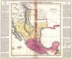 Mexico and Internal Provinces. : Prepared from Humboldt's map & other documents