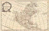 An accurate map of North America from the latest improvements, and regulated by astronomical...