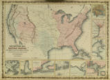 Johnson's new military map of the United States showing the forts, military posts & all the...