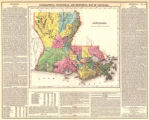 Geographical, statistical and historical map of Louisiana.