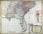 A new and general map of the Southern dominions belonging to the United States of America : viz...
