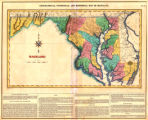 Geographical, statistical, and historical map of Maryland