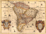 A new mapp of America Meridionale