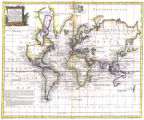 A new & accurate chart of the world : drawn from authentic surveys assisted by the most...