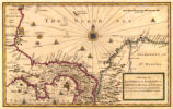 A new map of ye Isthmus of Darien in America, the bay of Panama, the Gulph of Vallona or St....