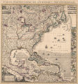 A map of the British Empire in America : with the French, Spanish and Hollandish settlements...