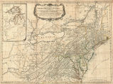 General map of the middle British colonies, in America. Containing Virginia, Maryland, the...