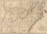 Map of the southern states of America : comprehending Maryland, Virginia, Kentucky, Territory s'th...