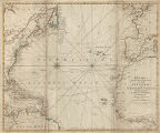Bowles' new pocket map of the Atlantic or Western Ocean, laid down from the latest discoveries,...