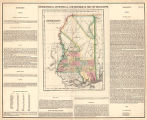Geographical, statistical, and historical map of Mississippi