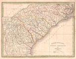 North Carolina, South Carolina, and Georgia.