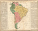 Map of South America : intended for the elucidation of Lavoisne's historical atlas
