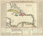 Geographical, statistical, and historical map of the West Indies. Drawn by F. Lucas Jr. Engrav'd...