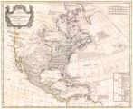 A map of North America by J. Palairet with considerable alterations & improvemts. from...