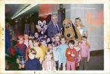 Mayor George Seibels with kindergarteners