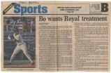 Bo wants Royal treatment