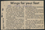 Wings for your feet