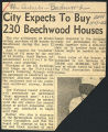 City expects to buy 230 Beechwood houses