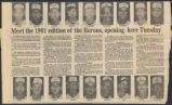Meet the 1981 edition of the Barons opening here Tuesday