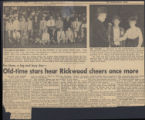 Old-time stars hear Rickwood cheers once more