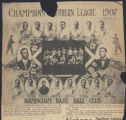Southern League champs of 1906