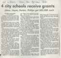 4 city schools receive grants