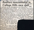 Realtors noncommital in College Hills race spat