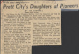 Pratt City's Daughters of Pioneers