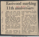 Eastwood marking 11th anniversary