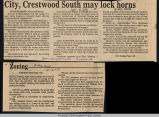 City, Crestwood South may lock horns