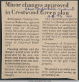 Minor changes approved in Crestwood Green plan