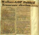 Wallace GOP flubbed Tennessee election