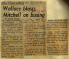 Wallace blasts Mitchell on busing