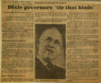 Dixie governors tie that binds