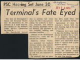 Terminal's fate eyed